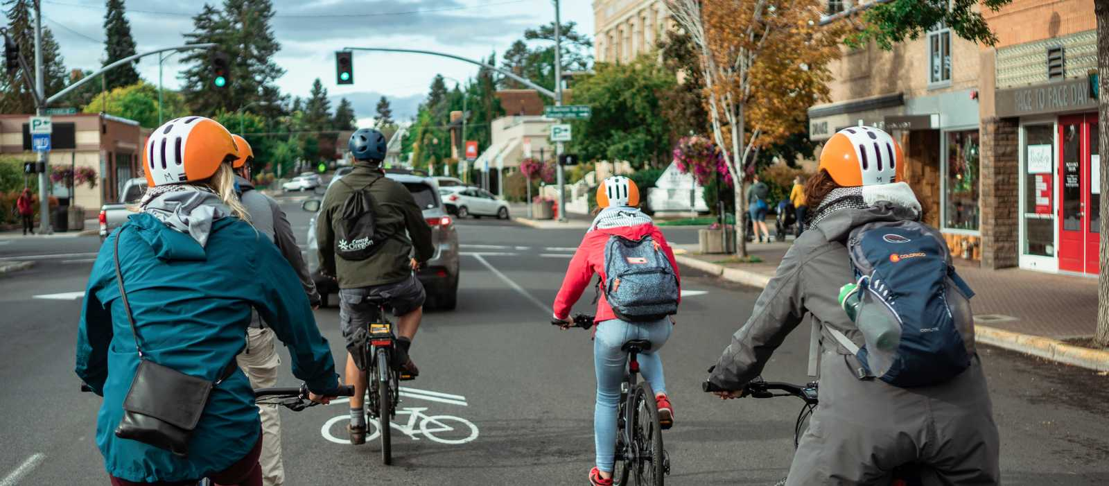 Fahrradtour durch Bend