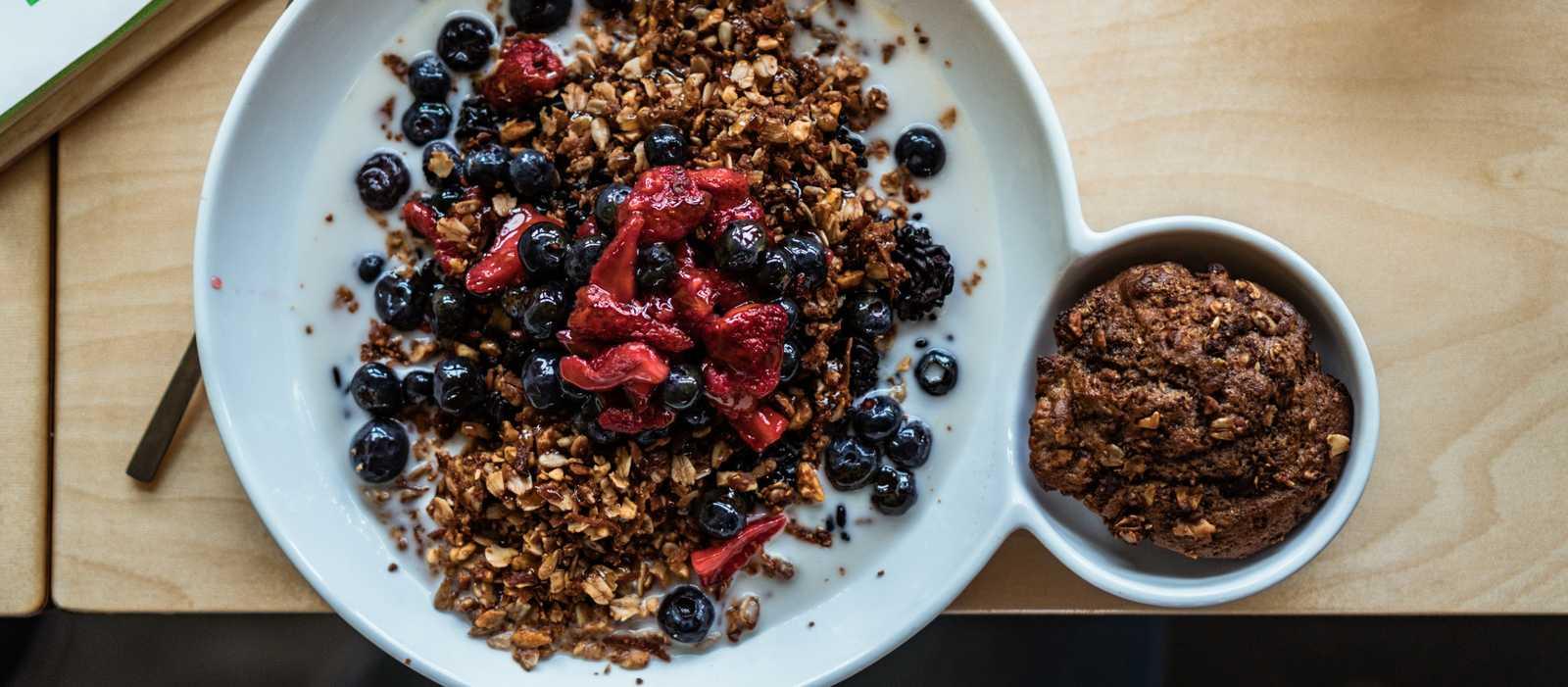 Forbidden Rice Cereal Bowl im Riff Craft Food Restaurant