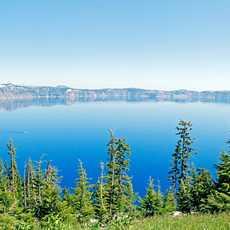 Blick auf den Crater Lake