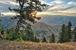 Der Hells Canyon in Oregon im Nordwesten der USA