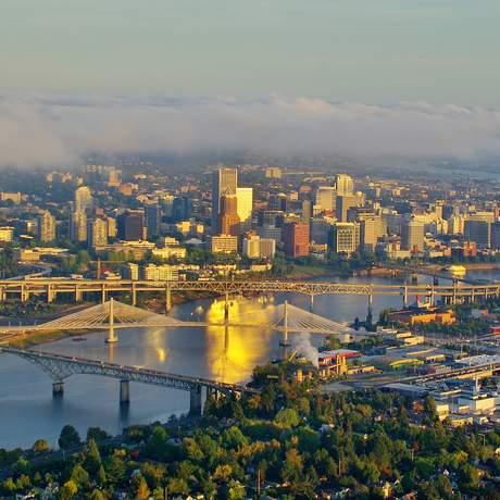 Die Skyline Portlands