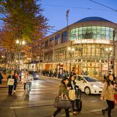 Pioneer Place Shoppingcenter in Portland, Oregon