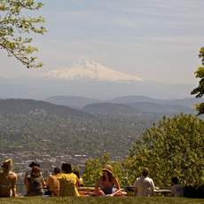 Pittock Mansion View, Mount Hood