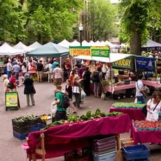 Farmers Market in Portland, Oregon