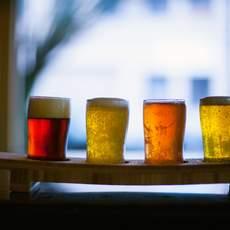 Beer Tasting, Old, St. Francis, Portland