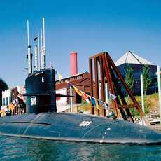 USS Blueback Submarine