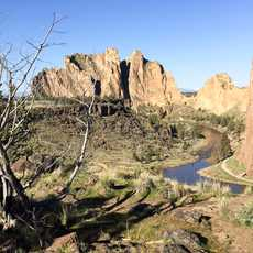 Aussicht Smith Rock State Park