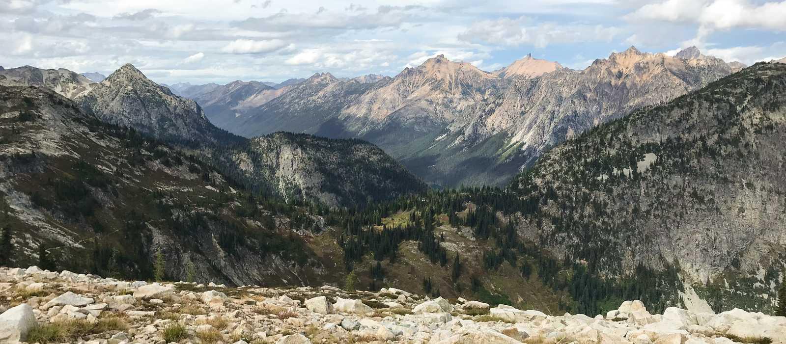 Ausblick vom Maple Pass
