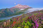 Der Mount St. Helens in Washington im Nordwesten der USA