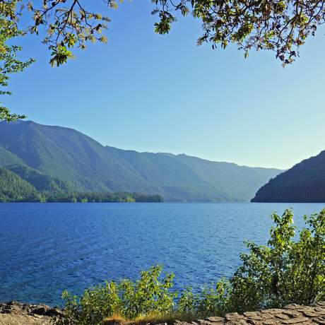 Der Lake Crescent im Olympic National Park