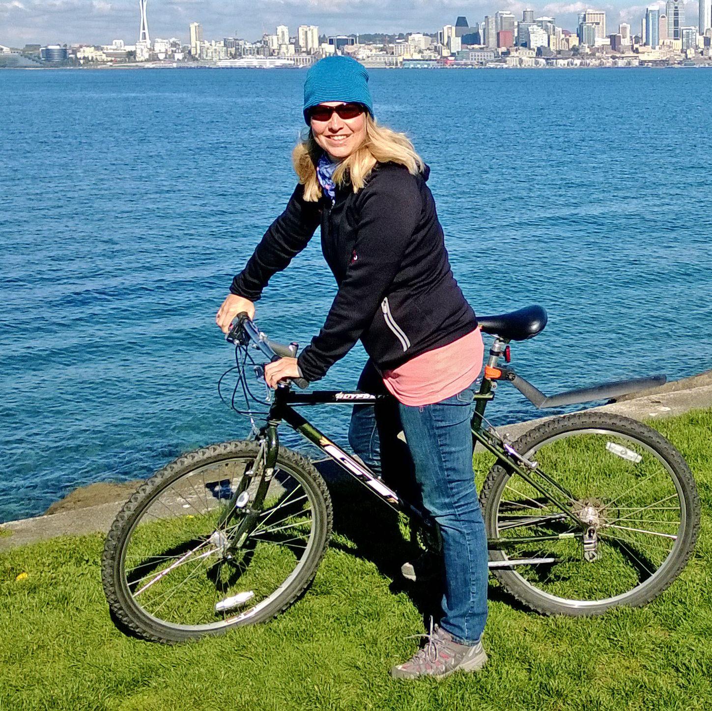 Fahrradtour durch West Seattle