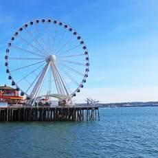 Seattle Riesenrad Pier