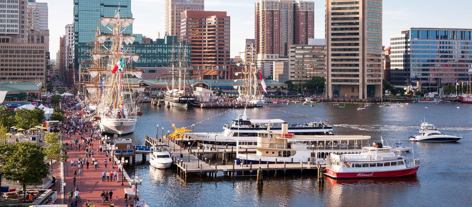 Hafen von Baltimore, Maryland