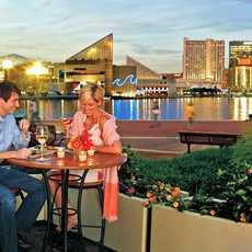 Abendstimmung am Hafen von Baltimore