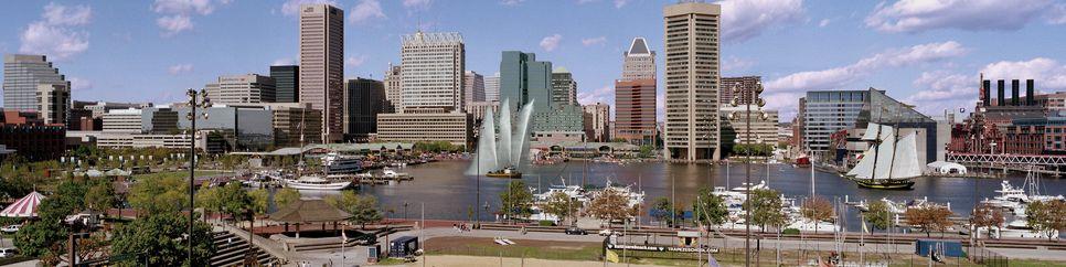 Skyline von Baltimore