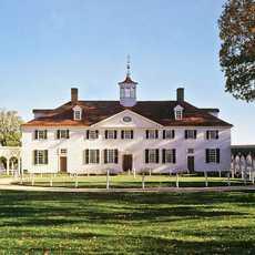 Blick auf Mount Vernon