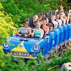 Spass in den Busch Gardens, Williamsburg