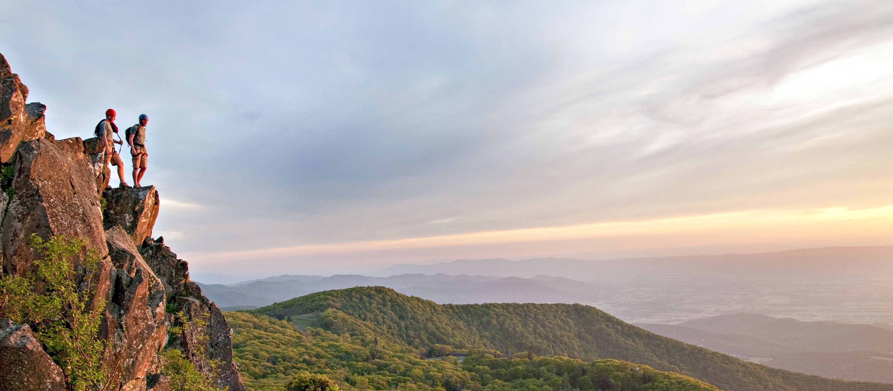 Den Ausblick des Shenandoah-Nationalpark genießen
