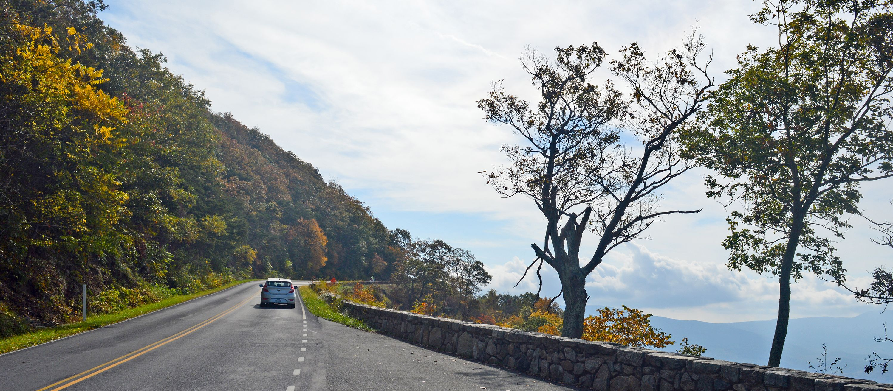 Unterwegs im Shenandoah Nationalpark