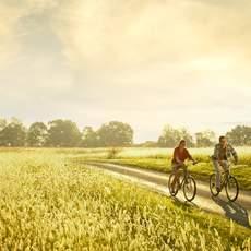 Fahrradfahrer in Loudoun county