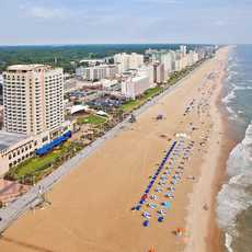 Strandpromenade von Virginia Beach