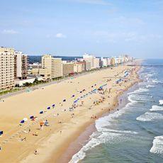 Strand von Virginia Beach