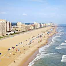 Strand von Virginia Beach