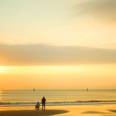 Sonnenuntergang am Virginia Beach