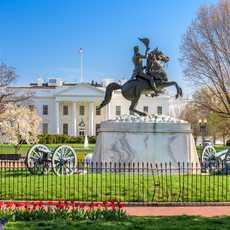 Das weiße Haus, Lafayette Square, Washington, DC