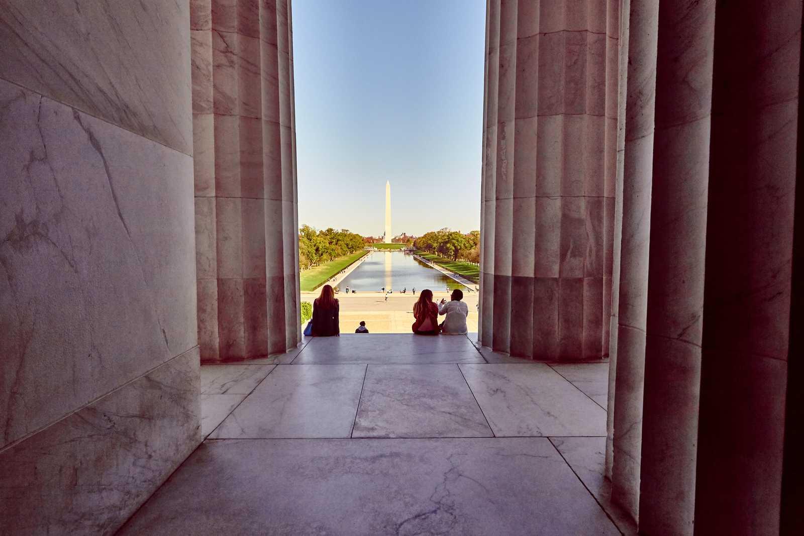 Blick auf das Washington Monument
