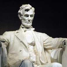 Statue im Lincoln Memorial