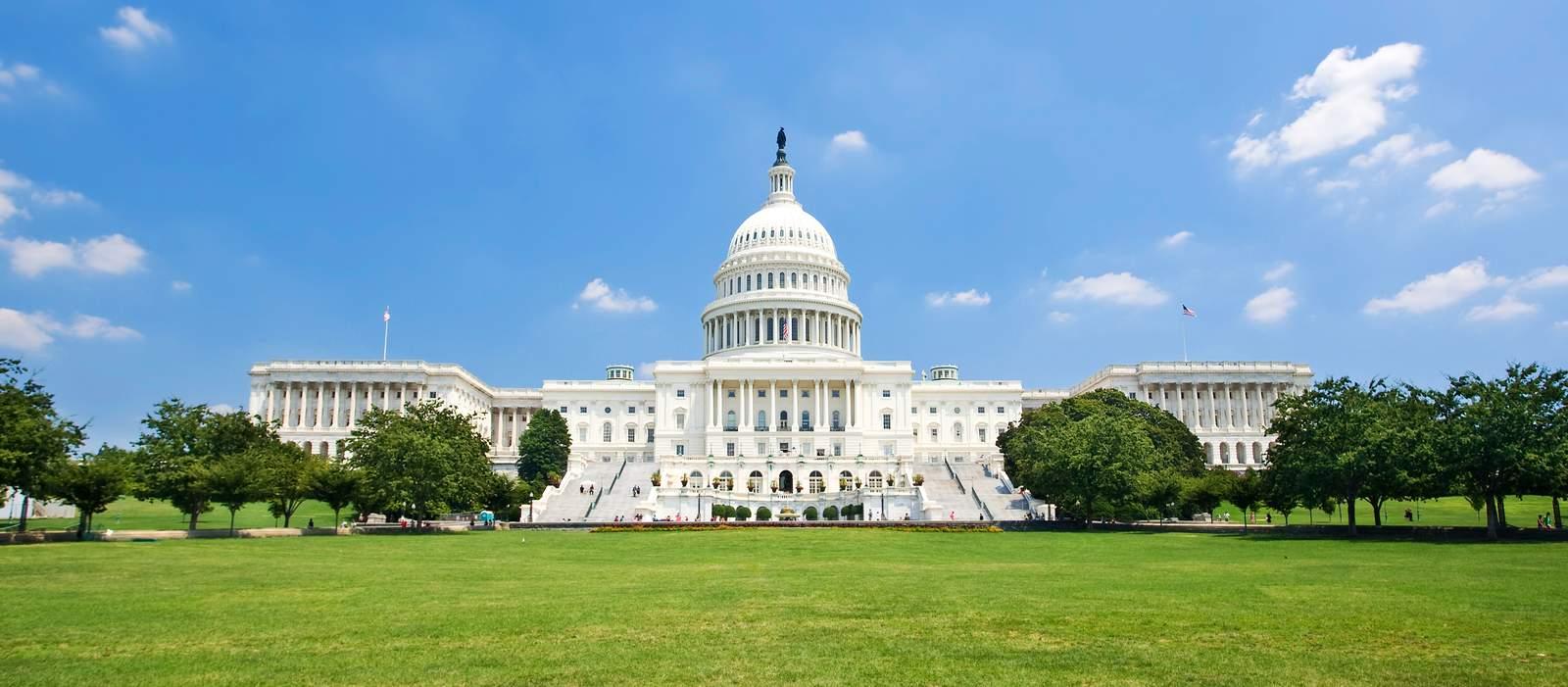 US Capitol im Sommer