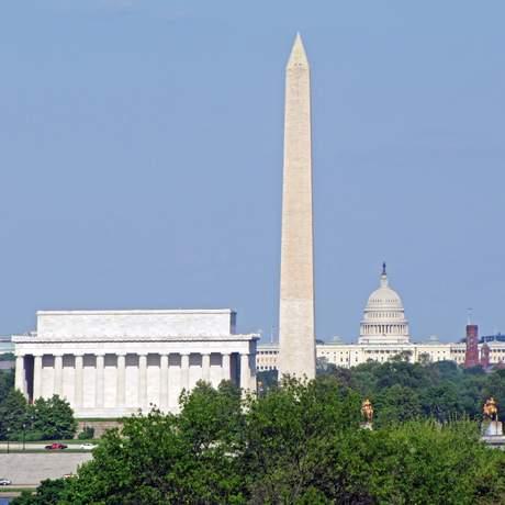 Blick auf Mall Washington
