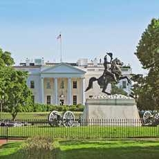 Blick auf das Weisse Haus