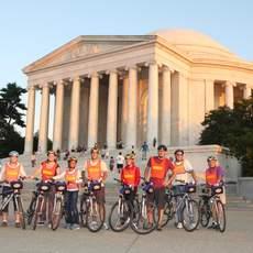 Jefferson Memorial Bike and Roll