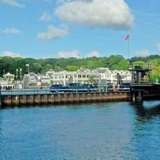 Am Hafen von Port Jefferson