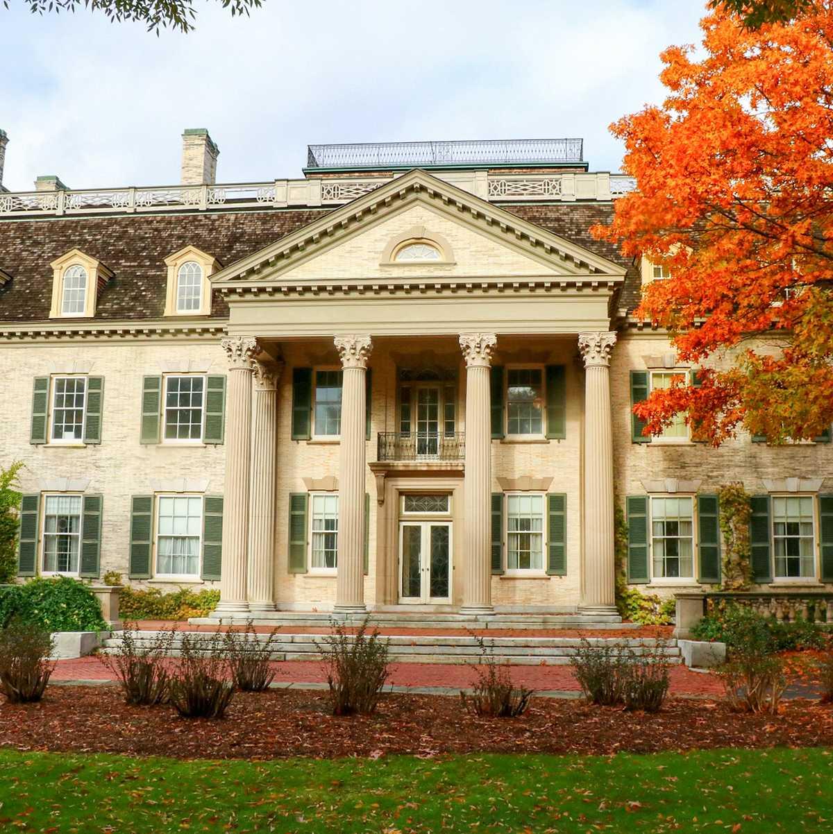 Das George Eastman House, ein internationales Museum für Bild- und Filmwerke in Rochester