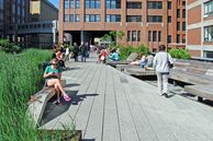Der grüne Highline-Park in New York