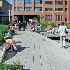 Impression High Line Park