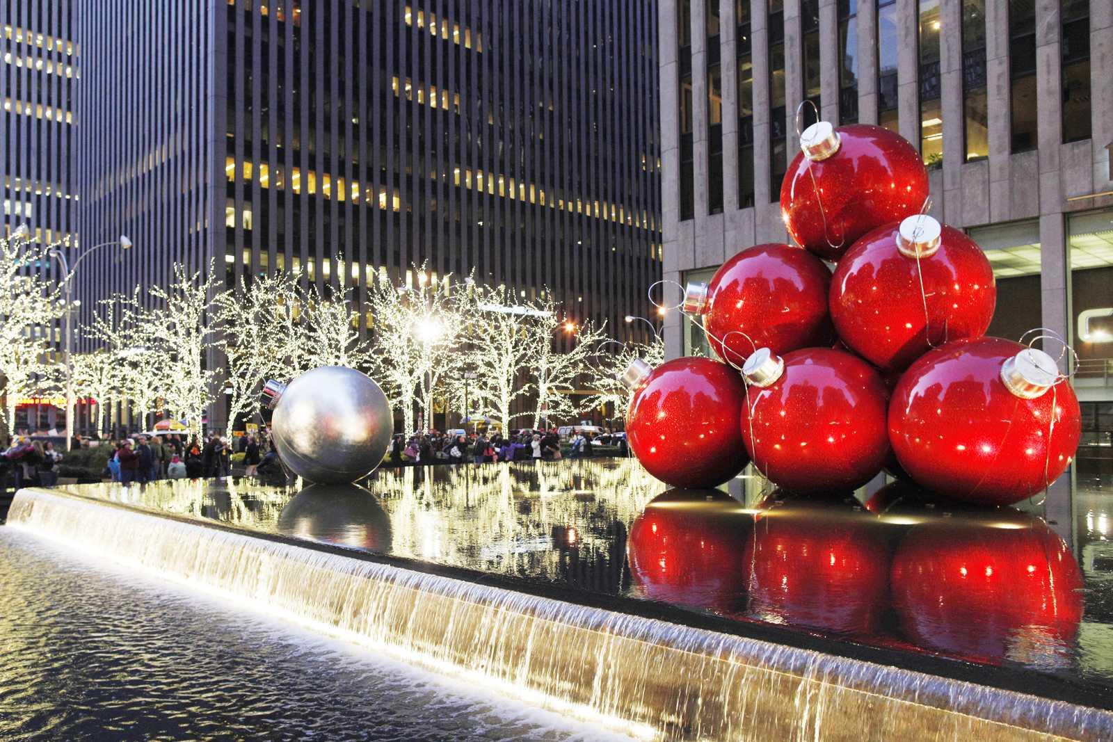 New York zur Weihnachtszeit