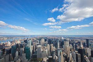 Blick über Manhattan vom Empire State Building