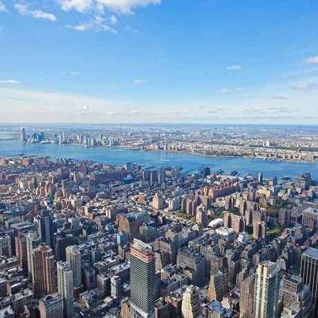 Suedwest-Blick vom Empire State Building