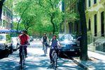 Mit dem Fahrrad über die Brooklyn Bridge