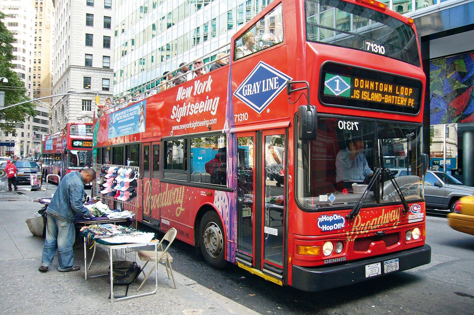 Sightseeing mit dem Grayline-Bus