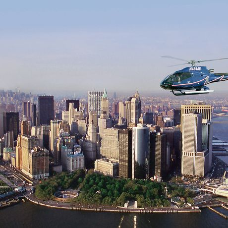 Helikopterrundflug ueber Manhattan