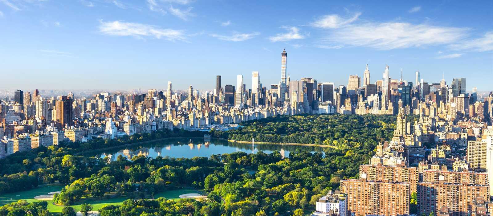 Wunderschöner Blick über Manhattan und den Central Park