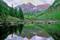 USA Nordwesten Kanada Routenvorschläge: See in Colorado