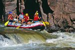 Green River Rafting Abenteuer in Colorado