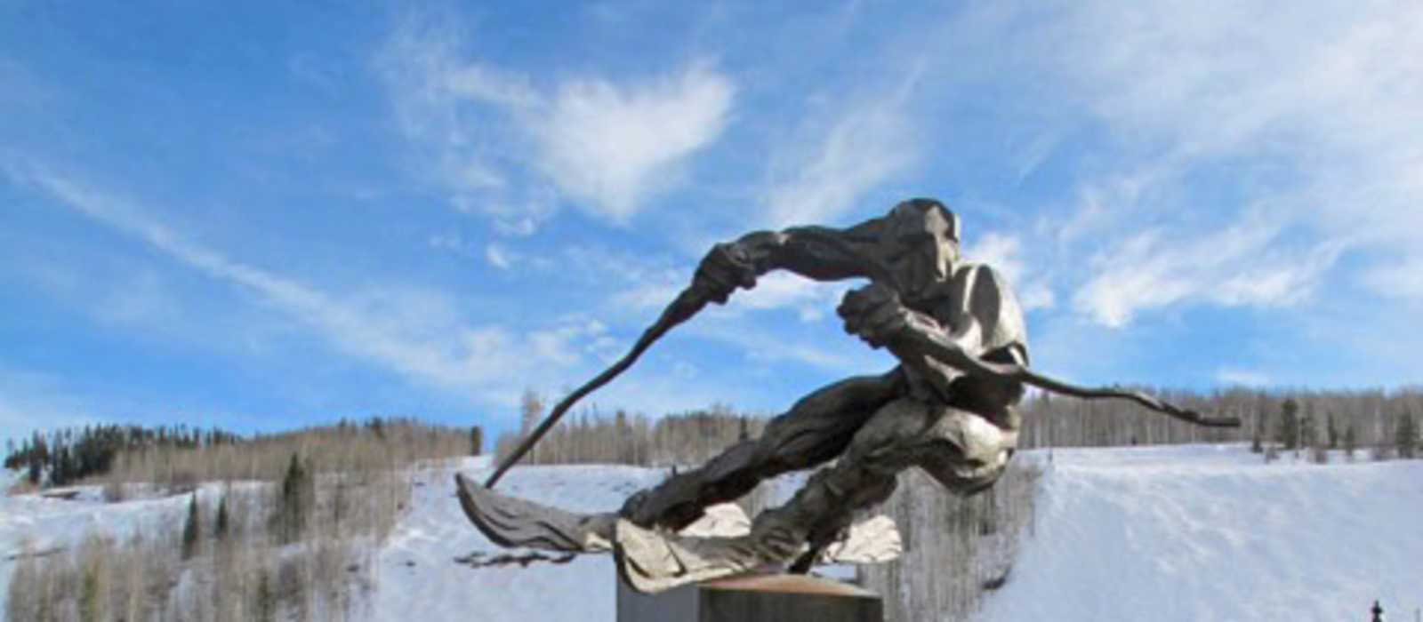 Statue in Vail