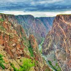 Eindrucksvoller Black Canyon